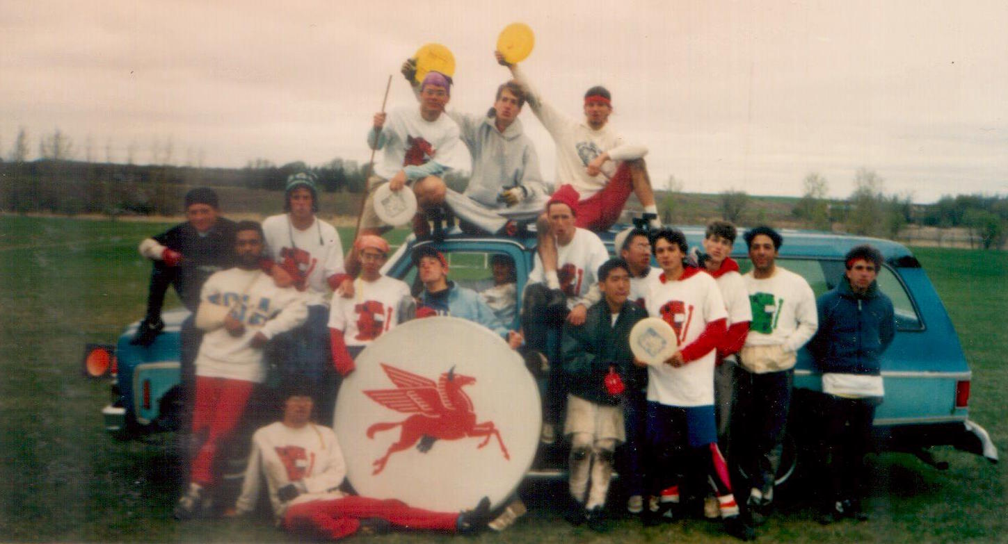 1987 Regionals Trip from Hell & The Birth of the Flying Horsecows